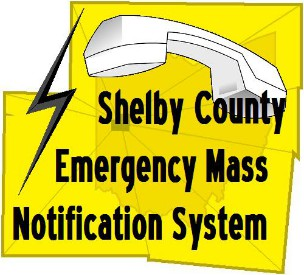 Shelby County Emergency Mass Notification System logo